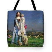 Pretty Baa-lambs Tote Bag