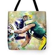 Reggie White. Green Bay Packers. Tote Bag