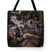 Rocks In The Forest  Tote Bag