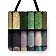 Rolls Of New Carpet Tote Bag