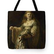 Saskia Van Uylenburgh In Arcadian Costume  Tote Bag