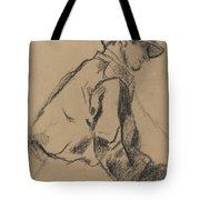 Study Of A Jockey Tote Bag