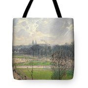 The Garden Of The Tuileries On A Winter Afternoon  Tote Bag