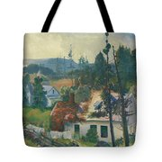 The Red Vine  Matinicus Island  Maine  Tote Bag