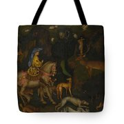 The Vision Of Saint Eustace  Tote Bag