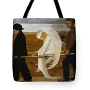 The Wounded Angel Tote Bag