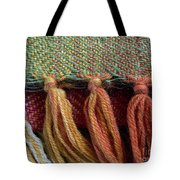 Wool Textile Background Tote Bag