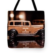 33 Plymouth Police Tote Bag