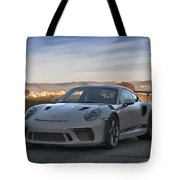 #porsche 911 #gt3rs #print Tote Bag by ItzKirb Photography