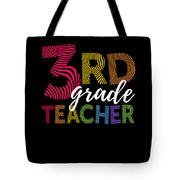 3rd Grade Teacher Light Tote Bag
