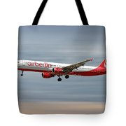 Air Berlin Airbus A321-211 Tote Bag