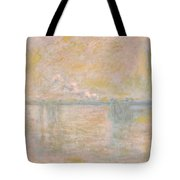 Charing-cross Bridge In London -  Tote Bag