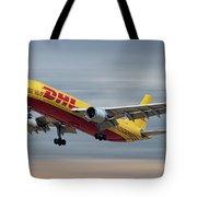 Dhl Airbus A300-f4 Tote Bag