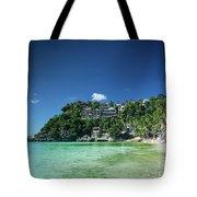 Diniwid Resort Beach View In Tropical Paradise Boracay Island Ph Tote Bag