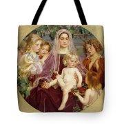 Madonna Of Giverny  Tote Bag