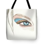 Portrait Illustration- Watercolor Painting Tote Bag