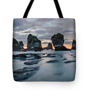 Motukiekie Beach - New Zealand Tote Bag