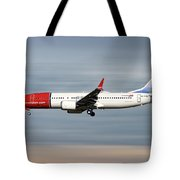 Norwegian Boeing 737 Max 8 Tote Bag