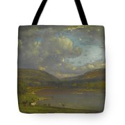 On The Delaware River Tote Bag