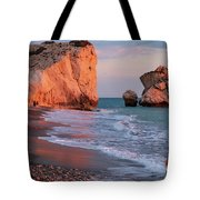 Playing At Aphrodite's Birthplace Tote Bag