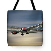 Royal Jordanian Boeing 787-8 Dreamliner Tote Bag