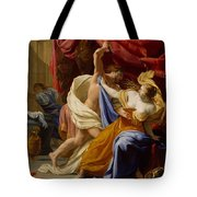 The Rape Of Tamar  Tote Bag