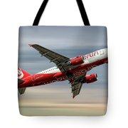 Air Berlin Airbus A319-112 Tote Bag
