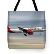 Avianca Airbus A320-233 Tote Bag