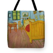 Bedroom In Arles Tote Bag