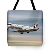 Iberia Regional Bombardier Crj-1000 Tote Bag
