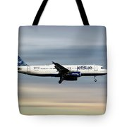 Jetblue Airways Airbus A320-232 Tote Bag