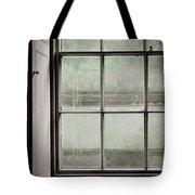 Old Window Frame Tote Bag
