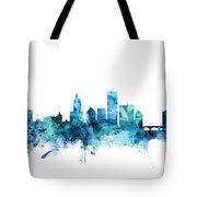 Providence Rhode Island Skyline Tote Bag