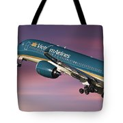 Vietnam Airlines Airbus A350 Tote Bag