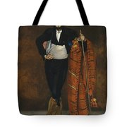 Young Man In The Costume Of A Majo  Tote Bag