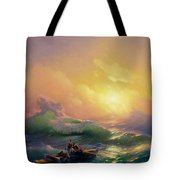 The Ninth Wave Tote Bag