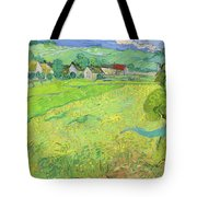 View Of Vessenots Near Auvers Tote Bag