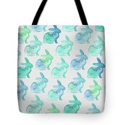 Watercolor Bunnies 1i Tote Bag