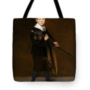 Boy With A Sword  Tote Bag