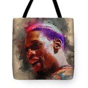 Dennis Rodman Tote Bag