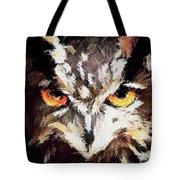 Eurasian Eagle Owl Tote Bag
