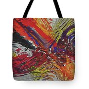 My Colorful World Series Tote Bag