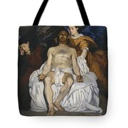 The Dead Christ With Angels  Tote Bag