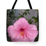 Pink Hibiscus Tote Bag
