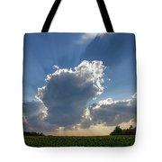 Prairie Storm Clouds Tote Bag
