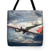 Air India Boeing 787-8 Dreamliner Tote Bag