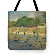 Bank Of The Seine Tote Bag