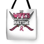 Breast Cancer Awareness Art For Warrior Women Light Dark Tote Bag