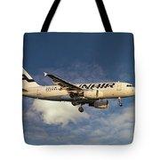 Finnair Airbus A319-112 Tote Bag