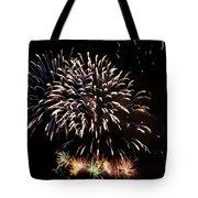 Firework Display Tote Bag